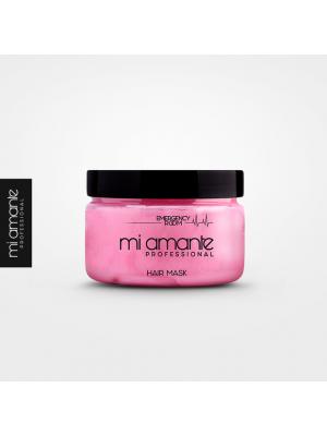 Маска за подхранване на всеки тип коса Mi Amante Emergency Room Mask 250ml