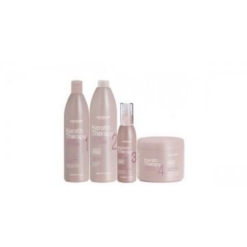 Кератинова терапия за трайно изправяне на косата Alfaparf Keratin Therapy Lisse Design Kit