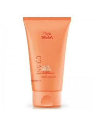 Експресна маска за възстановяване на суха и стресирана коса WELLA Invigo Nutri Enrich Express Mask 150ml