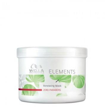 Възстановяваща маска за интензивна хидратация на суха и увредена коса Wella Elements Renewing Mask 150ml