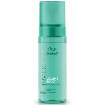 Пяна за обем и уплътняване на тънка и фина косата WELLA Invigo Volume Boost Foam 150ml