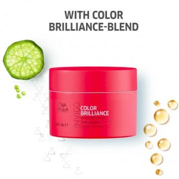 Маска за запазване на цвета за тънка боядисана коса WELLA Invigo Color Brilliance Mask 150ml