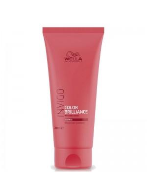 Балсам за запазване на цвета за плътна боядисана коса WELLA Invigo Color Brilliance Conditioner 200ml