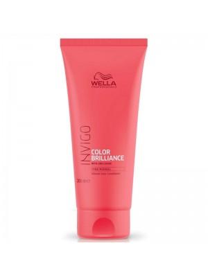 Балсам за запазване на цвета за тънка боядисана коса WELLA Invigo Color Brilliance Conditioner 200ml