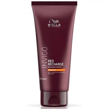 Балсам за освежаване на цвета за топла червена гама боядисана коса WELLA Invigo Red Recharge Warm Conditioner 200ml