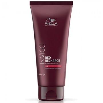 Балсам за освежаване на цвета за червена гама боядисана коса WELLA Invigo Red Recharge Red Conditioner 200ml