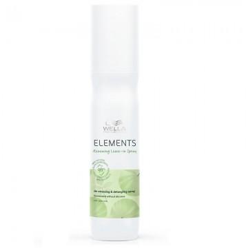 Спрей за хидратация на суха и увредена коса Wella Elements Conditioning Leave-In spray 150ml