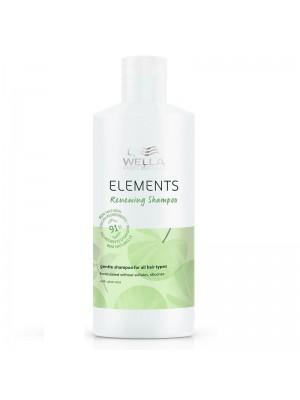 Възобновяващ шампоан за суха и увредена коса Wella Elements Renewing Shampoo 500ml