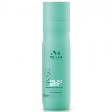 Шампоан за обем и уплътняване на тънка и фина косата WELLA Invigo Volume Boost Shampoo 250ml