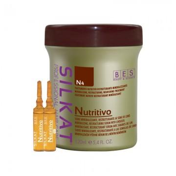 Професионални възстановяващи ампули N4 Silkat Nutrivio 12х10 мл.