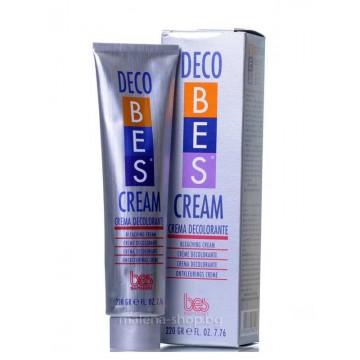 Професионален обезцветяващ крем Bes Deco Cream  220 г.