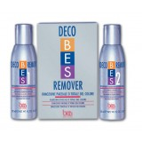 Професионален обезцветител Bes Deco Remover за боядисани коси 2х150 мл.
